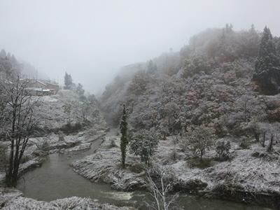 2013年秋初雪1