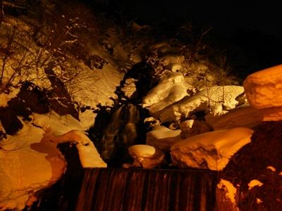 雪壁の灯道2