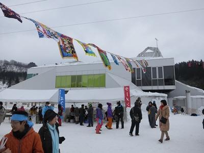 雪の運動会2