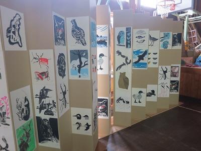 絵本と木の実の美術館3