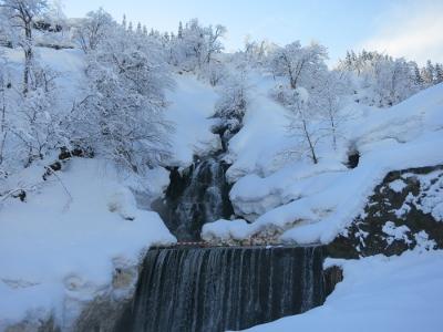 松之山温泉不動滝
