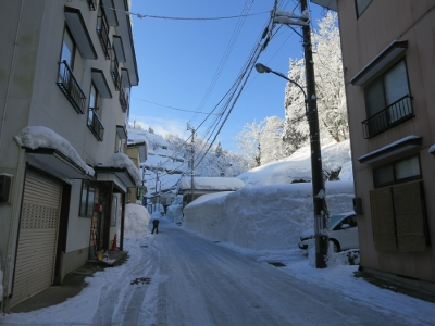 松之山温泉街5