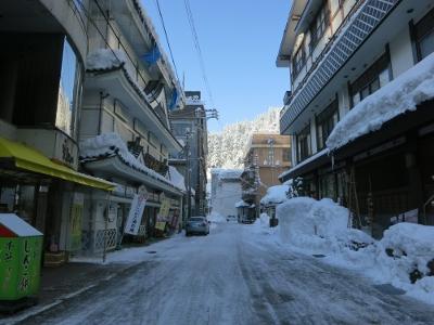 松之山温泉街8