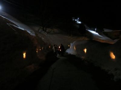 雪壁の灯道1