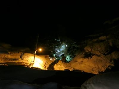 雪壁の灯道3
