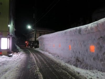 雪壁の灯道4