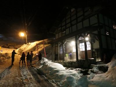 雪壁の灯道7
