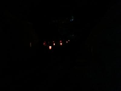 雪壁の灯道8