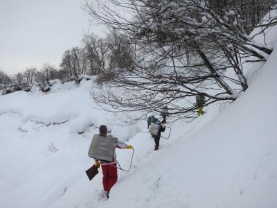 留守原の棚田冬3