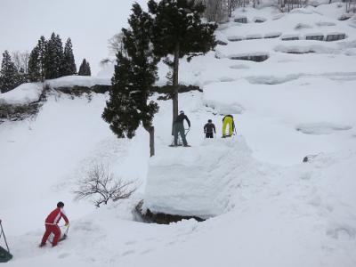 留守原の棚田冬8