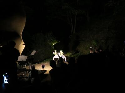 坪野野外舞踏公演1