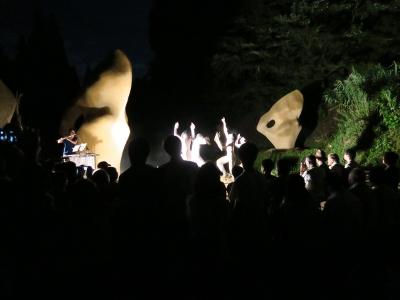 坪野野外舞踏公演2