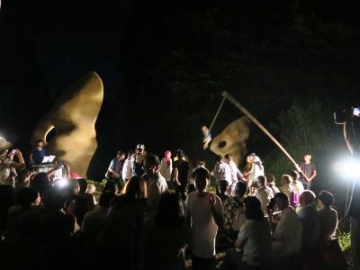 坪野野外舞踏公演6