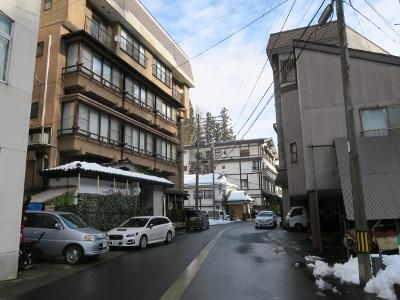 松之山温泉街9